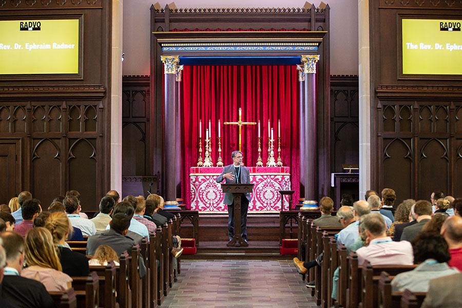 The Rev. Dr. Ephraim Radner